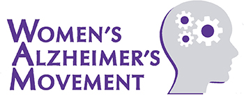 Women's Alzeimer's Movement Logo